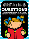 Creating Questions: Ask and Answer Question Fun!
