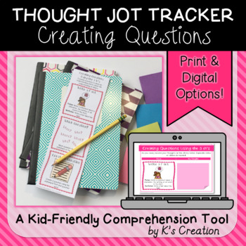 Reading Response: Creating Questions Using the 5 W's - A Comprehension Tracker