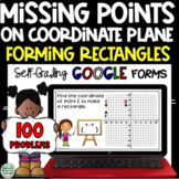 Creating Rectangles on a Coordinate Plane: Self-Grading GOOGLE forms