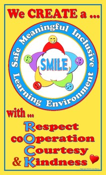 Creating Safe, Meaningful, Inclusive Learning Environments - FREE Poster