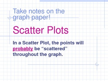 Creating Scatter Plots