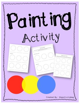 Creating Secondary Colors (painting activity)