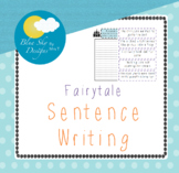 Creating Sentences Free Fairytale Edition