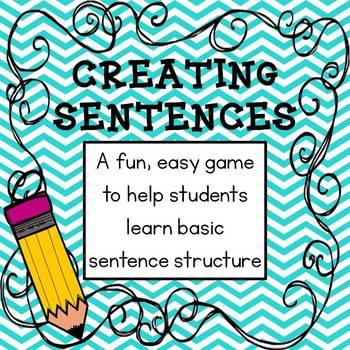 Creating Sentences Game