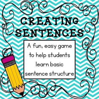 Creating Sentences Game
