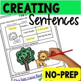 Creating Sentences (No Prep)