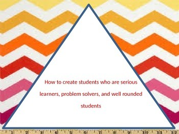 Creating Serious Students, Classroom Management, and Effective Teaching