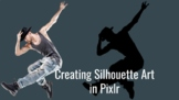 Creating Silhouette Art with Pixlr