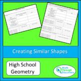 Creating Similar Shapes