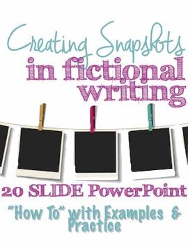 Creating Snapshots in Creative Writing