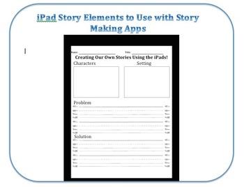 Creating Stories Using the iPad