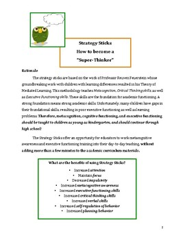 Creating Super-Thinkers: Metacognition, Executive Functions & Critical Thinking