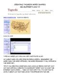 Creating Tagxedo Word Shapes
