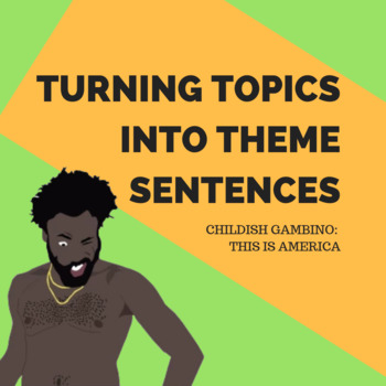 Creating Themes using Childish Gambino - This is America