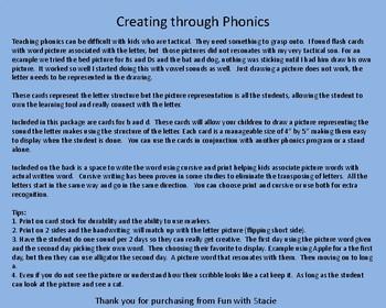Creating Through Phonics