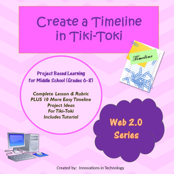 Creating Timelines using Tiki-Toki (a free Web 2.0 tool)