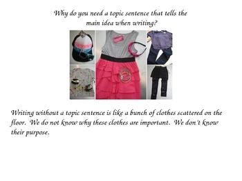 Creating Topic Sentences