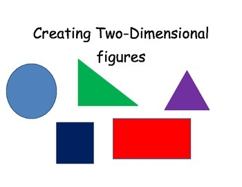 Creating Two-dimensional Figures