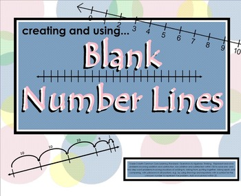 SMARTboard: Creating & Using Blank Number Lines (CCLS Aligned, 2nd Grade)