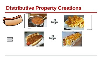 Creating Using the Distributive Property