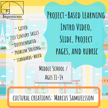 """Gifted Project Based Learning: #5 from """"Roots"""" Unit"""