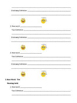 Creating Words Using Prefixes, Root Words, and Suffixes Lesson #3
