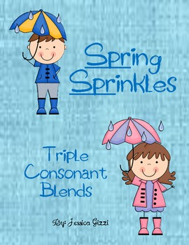 Creating Words With 3 Consonant Blends: Spring Sprinkles