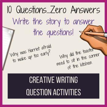 Creative Writing- Reverse Writing-Set 1