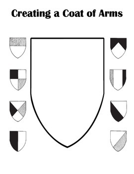 Creating Your Own Coat of Arms Activity