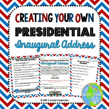 Presidential Inaugural Address Activity