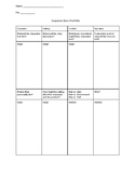 Creating Your Own Suspense Story Pre-Writing Graphic Organizer