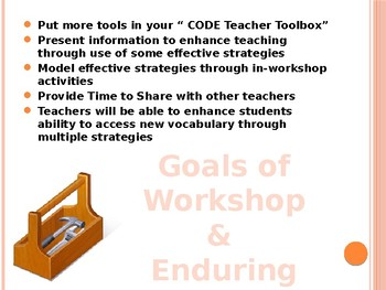 Creating Your Vocabulary Instruction Toolkit