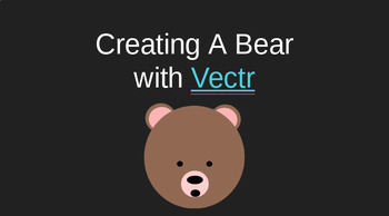 Creating a Bear with Vectr - Free Online Vector Editor