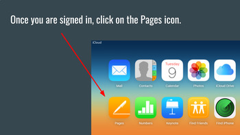 Creating a Brochure with iCloud, Chromebook Friendly, Uses Free Apple Pages
