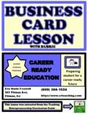 TEACH STUDENTS HOW TO CREATE A BUSINESS CARD