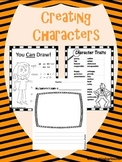 Creating a Character Center Activity  * Reproducible * Partly editable