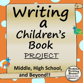 Writing a childrens book project