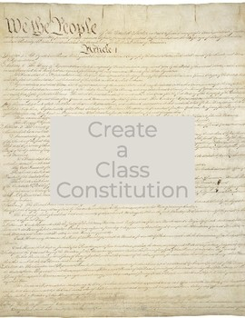 Creating a Class Constitution