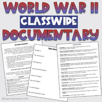 Creating a Class-wide World War II Documentary