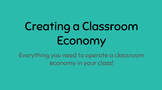 Creating a Classroom Economy
