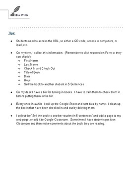 Creating a Classroom Library Digitally with Google