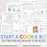 Creating a Cookie Business   Entrepreneurship Project for Kids