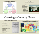 Creating a Country PowerPoint Notes