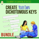 Creating a Dichotomous Key BUNDLE Group Activity Science Lab