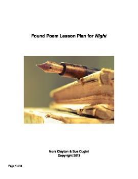 Creating a Found Poem Using Night