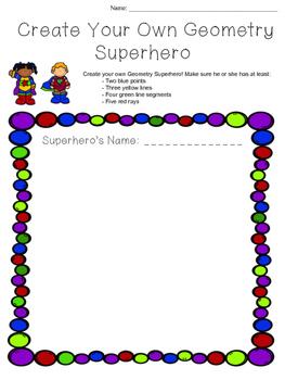Creating a Geometry Superhero