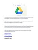 Creating a Google Drive Presentation