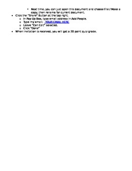 Creating a GoogleDocs Account