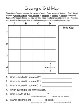 Creating a Grid Map with Map Key