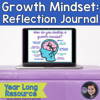 Creating a Growth Mindset: #WordsofWisdom Year-Long Digital Reflection Journal